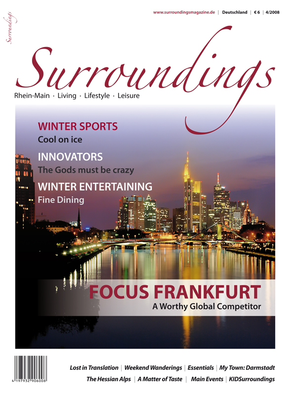 Surroundings' most recent issue