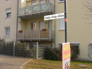 Entering Camp King from Hohemarkstrasse