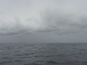 Infamous cloud cover on the Azores