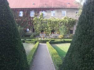 Barockschloss Zeilitzheim park