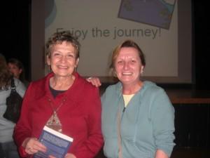 On the left - the author, Ruth E. Van Reken.