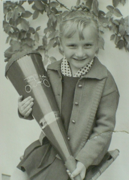 My first day of school in September 1967