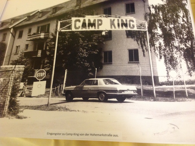 Camp King Oberursel entrance