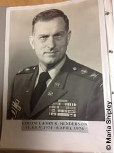 Colonel Henderson