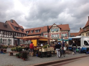 Saturday market day in Oberursel