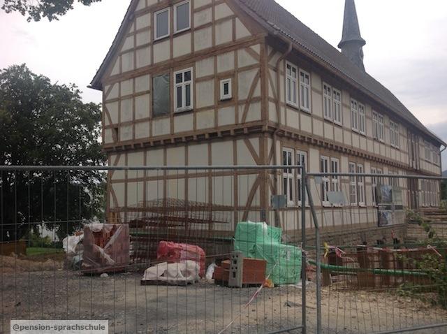 Mountain Lodge construction site