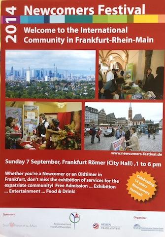 Newcomers Festival Frankfurt 2014