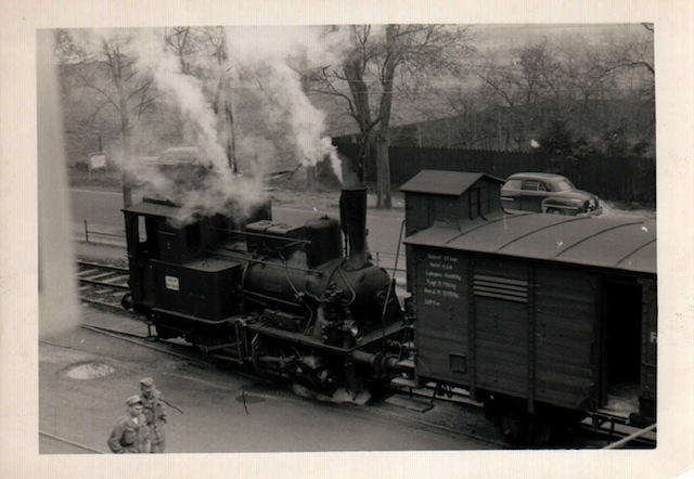 Dampflok Motorpool Oberursel 1950s