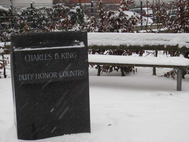 Charles B. King cenotaph