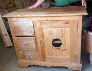 Pie safe made by POW Albert Genty in Germany