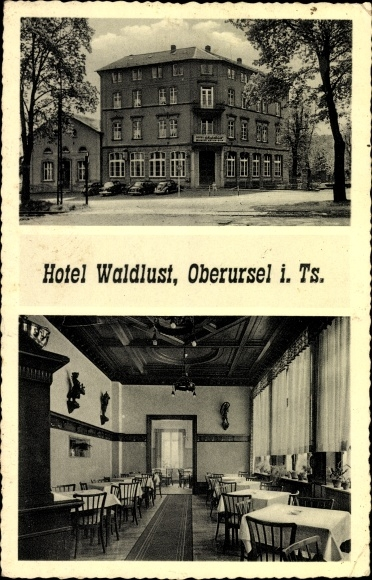 Hotel Waldlust i. Ts. 1957