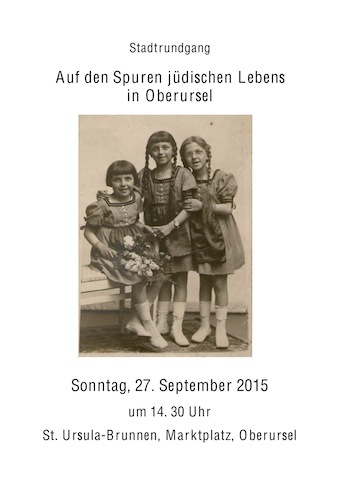 Guided Tour of Jewish Life in Oberursel