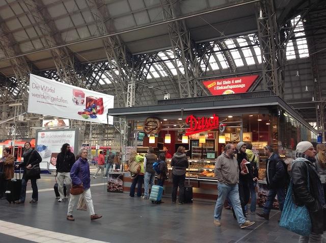 Hauptbahnhof - innen