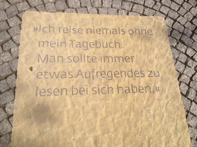Kopfsteinpflaster Weimar