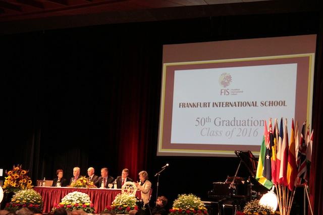 FIS - 50th graduation: class of 2016