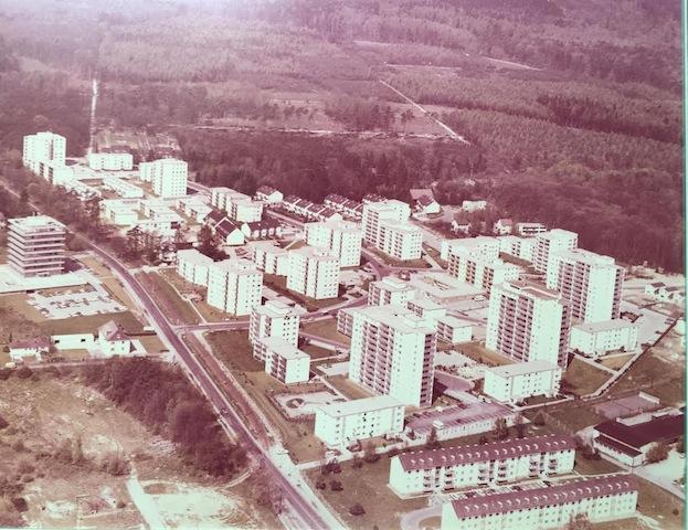 Im Rosengärtchen in Oberursel, ca. 1972