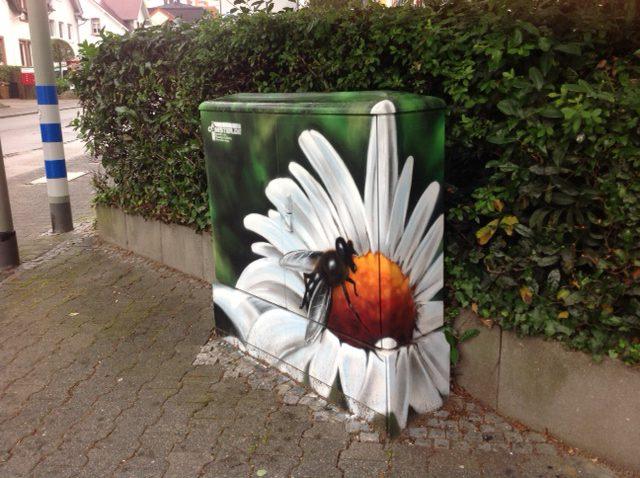 Stromverteilerkasten CANISTER Graffiti Art
