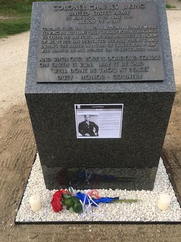 King Memorial at Camp King